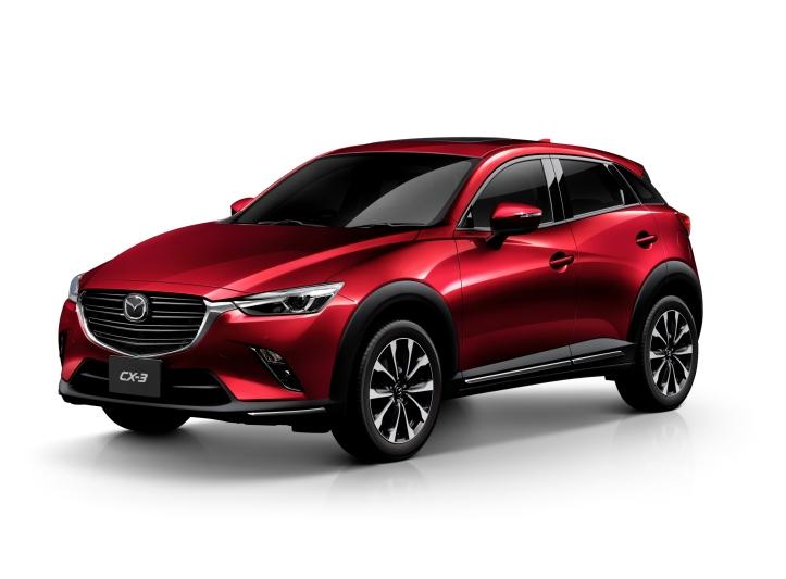 Mazda CX-3 Soul Red Crystal