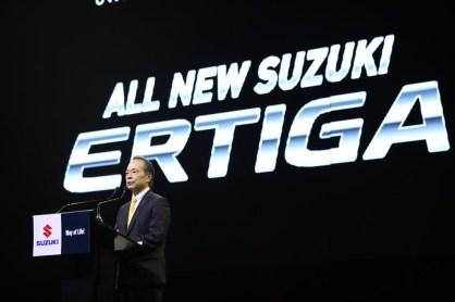 All new Suzuki ERTIGA - นายชูจิ โออิชิ - ผู้บริหารระดับสูง บ.ซูซูกิ มอเตอร์ คอร์ปอเรชั่น ประเทศญี่ปุ่น - 544A0939
