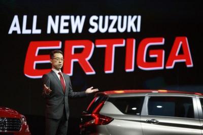 All new Suzuki ERTIGA - นายซาโตชิ คาซาฮาระ - หัวหน้าวิศวกร บ.ซูซูกิ มอเตอร์ คอร์ปอเรชั่น ประเทศญี่ปุ่น -J1DS1070