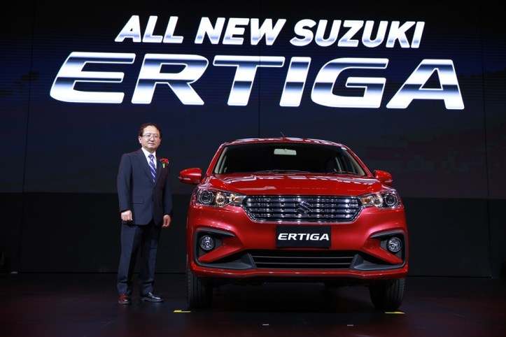 All new Suzuki ERTIGA -นายมิโนรุ อามาโนะ กรรมการผู้จัดการใหญ่ - บ.ซูซูกิ มอเตอร์ (ประเทศไทย) จำกัด - J1DX0153