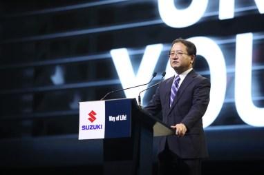 All new Suzuki ERTIGA -นายมิโนรุ อามาโนะ กรรมการผู้จัดการใหญ่ - บ.ซูซูกิ มอเตอร์ (ประเทศไทย) จำกัด - 544A0899